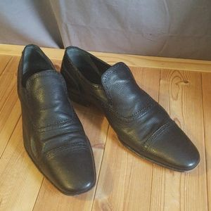 Bally leather Wingtip DANUBE Loafers size US 12 D